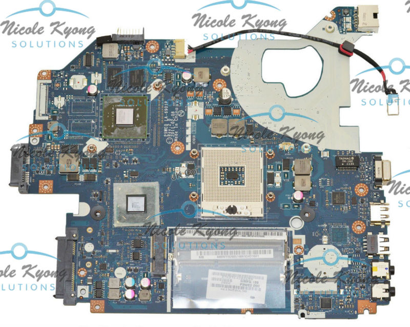 MBRFF02005 NB.RXK11.001 P5WE0 LA-6901P non-intergrated MotherBoard for Acer Aspire 5750 5750g 5350 5755 Gateway NV57H