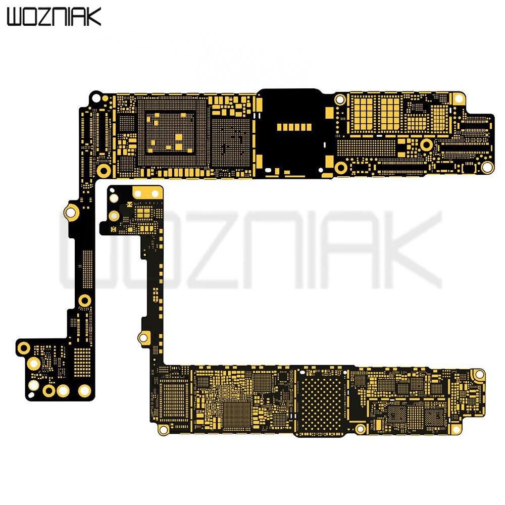 Placa do pwb da lógica da placa principal nua sem spareparts (versão intel) para o iphone x 8p 7p 5 5c 5S 6 6 mais 6s 6s mais|Conj. ferramentas elétricas| |  -