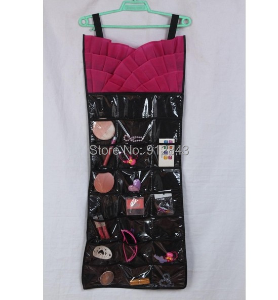 little evening dress Hanging jewelry organizer double sided storage bag - Most Economic shop store