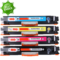 4 PKs Compatible color Toner Cartridge CE310A CE311A CE312A CE313A 126A for HP LaserJet Pro CP1025 CP1025nw MFP M175 M275 M275nw