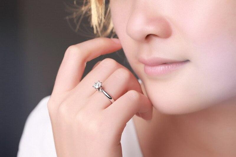 Six schmuck ring  Aliexpress.com : 925 Sterling Silber Cz Diamanten Ring 1 Carat Six ...