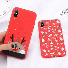 Christmas Tree Phone Case For iPhone XS Max X XR 6S Plus Silicone Cover