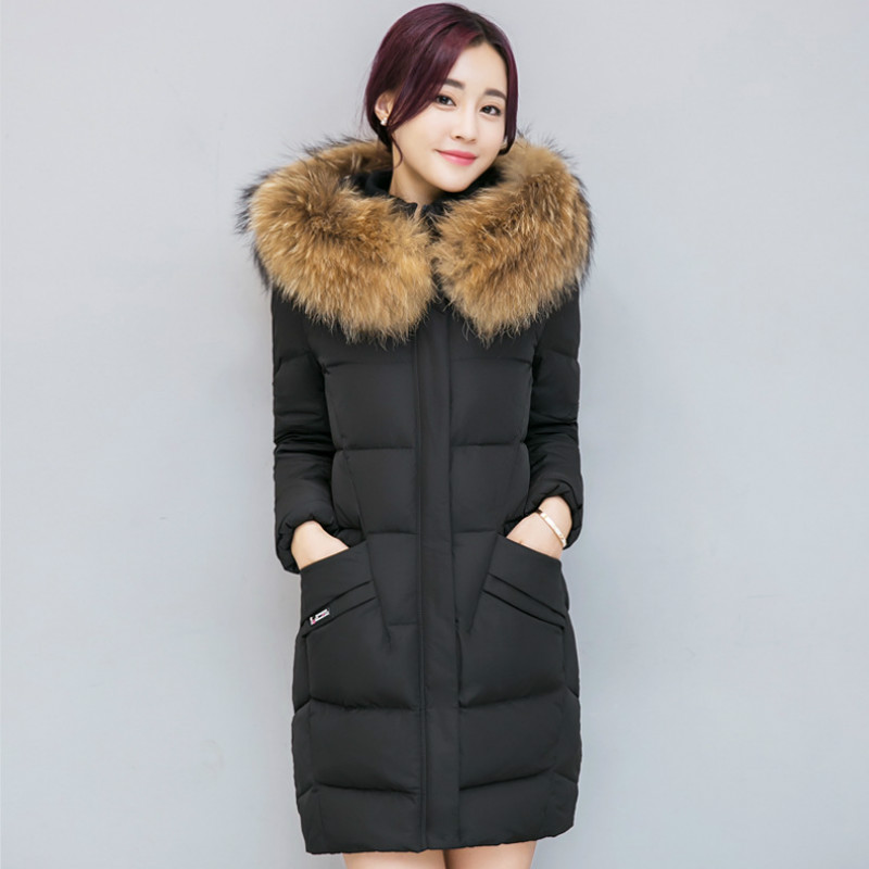 Winter Long Maternity Hooded Jacket Pregnancy Coat Jacket Fur Collar Woman Down Jacket For Pregnant Woman Snow Outwear Coat maternity winter coat pregnant women pregnant women cotton black coat large size coat tide tan collar collar long hooded jacket