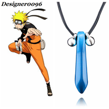 Naruto Anime cosplay Uzumaki Tsunade bijuu Necklace Peripheral Accessories Blue Green White Pendant cos