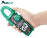 HOT Pro'skit MT 3110 intelligent clamp meter dual screen digital display multimeter ammeter automatic range backlight