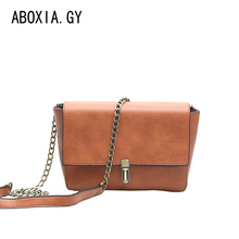 Retro Leather Women Messenger Bags Small Female Shoulder Bags Luxury Top-Handle Bag Leisure Mini Leather Bolsos Flap Stb002 недорого
