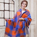 De alta Qualidade Da Moda Quente Scraf/Wraps/Cappa estilo Inglaterra xadrez de Inverno e Outono para As Mulheres e Meninas 200*76 cm