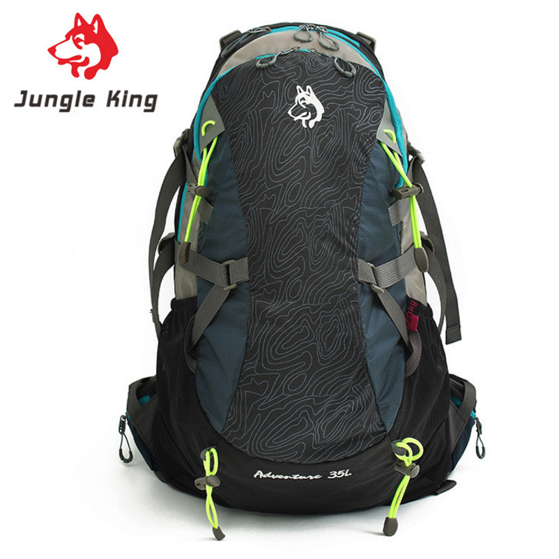 JUNGLE KING 35L Large Capacity Portable Hiking equipment bag For Outdoor Activities Sports camping hiking backpack for men women