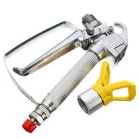 Airless Paint Spray Gun With Trade Tip High Pressure No Gas Sprayer Hine For Graco For
