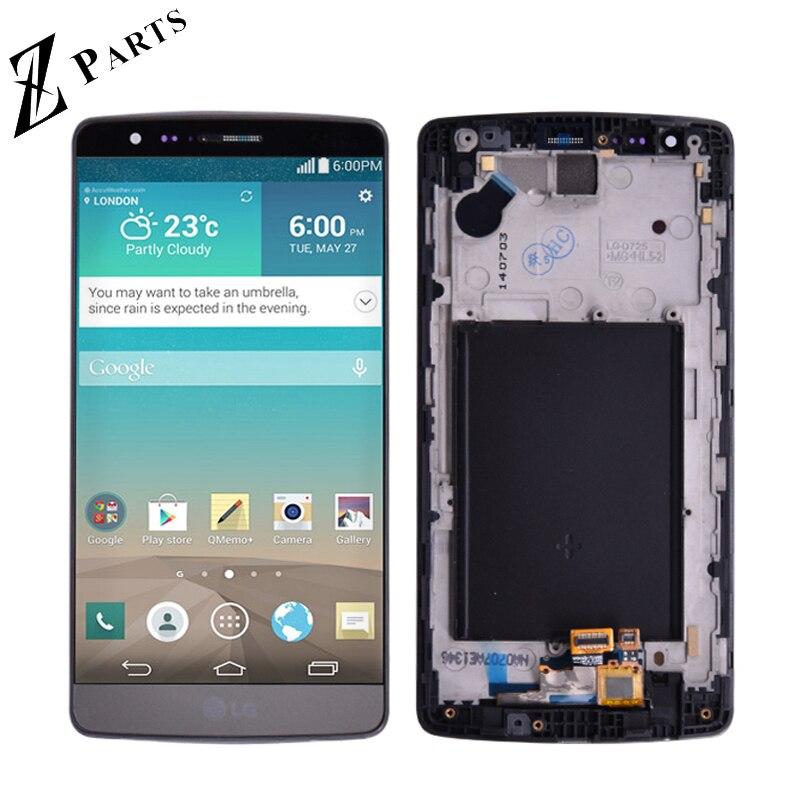5.0 1280x720 Originale Per LG G3 Mini D722 D724 Display LCD con Touch Screen Digitizer Assembly Con telaio di trasporto libero5.0 1280x720 Originale Per LG G3 Mini D722 D724 Display LCD con Touch Screen Digitizer Assembly Con telaio di trasporto libero