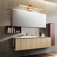 60cm Luxurious Led Mirror Light 85 265V Bathroom Wood Wall Lights Fixture Acrylic Dressing Room Makeup Lamp vanity light