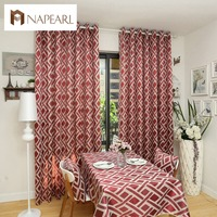 European Style Design Window Treatments Living Room Curtains Kitchen Door Curtain Home Textile Cotton Fabrics