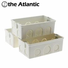 купить Wall Junction Box Super Quality 140mm*73mm Internal Mounting Box Back Cassette for 146Type Wall Light Switches and Sockets по цене 171.59 рублей