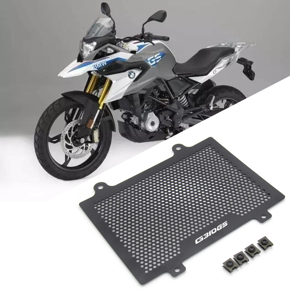 Motorcycle Stainless Steel Radiator Protector Guard Grill Cover Cooled Protector Cover For <font><b>BMW</b></font> G310GS G310R <font><b>G</b></font> <font><b>310</b></font> <font><b>GS</b></font> 2017 2018 image
