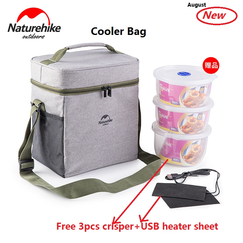 Factory sell High quality outdoor Waterproof Picnic bag insulated Portable Fabric Thermal Cooler Bag ice Bag with crisper fashion portable cartoon cat thermal cooler insulated waterproof lunch carry storage picnic bag pouch lunch bag for women kids
