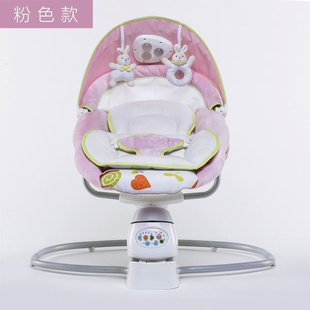 Electric Cradle Bed Baby Rocking Bed with light Rocking Shell Dq Cradle Automatic Rocking Chair Intelligent Coaxing