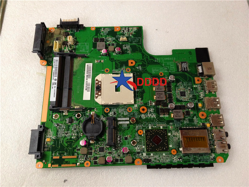 Original FOR Toshiba Satellite L745d Motherboard A000093500 DA0TE8MB6E0 fully tested все цены