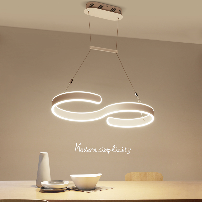 Minimalism Creative Modern LED Pendant Lights For Living Room Dining room Lustre AC85-265V Pendant Lamp Hanging Lighting Fixture silver aluminum ball led pendant light for living room creative design home decoration hanging lamp dining room lighting fixture