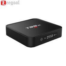 T95M TV Box Amlogic S905X 1 г + 8B Quad Core 64Bit Android 6.0 Smart 4 К HD медиаплеер Встроенный 2.4 г Wi-Fi HDMI Выход телеприставке