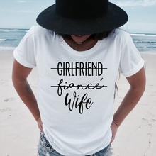 Girlfriend Fiance Wife T-Shirt Future Mrs Tumblr Tee Engagem