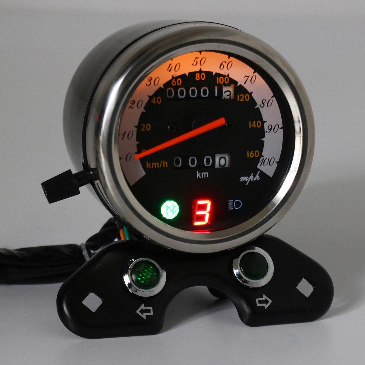 Hot Sale Motorcycle Odometer Speedometer Tachometer Speedo Meter For