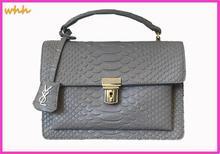 Microfiber Synthetic Leather crocodile pattern handbag leather woman handbag shoulder diagonal chain lock-selling package 5