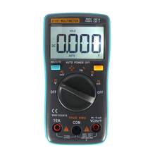 Green Digital Multimeter Voltmeter Ammeter Ohmmeter DC1000V 10A AC 750V Current Tester Auto Power Off LCD Display