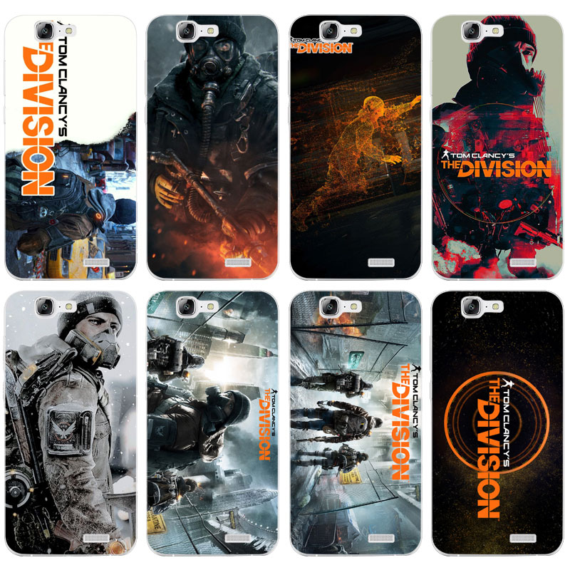 H326 Tom Clancy S The Division Transparent Hard Thin Skin Case Cover For Huawei P 6 7 8 9 10 Lite Plus Honor 6 7 8 4C 4X G7