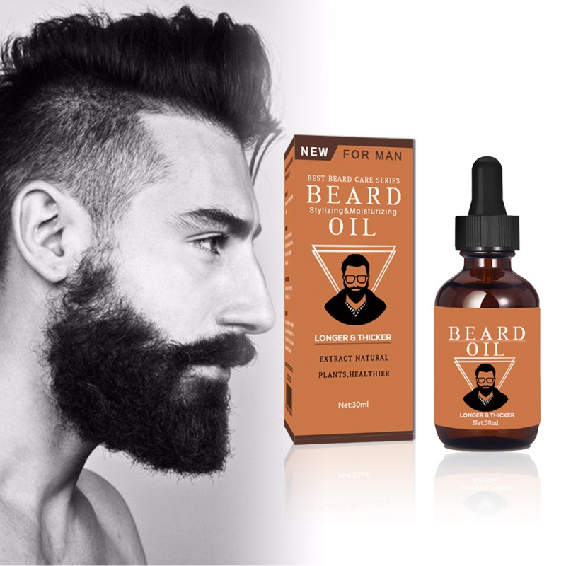 30ml Beard Growth Thicker Essence Oil for Men Shape Beards Grooming Beard Growth Products