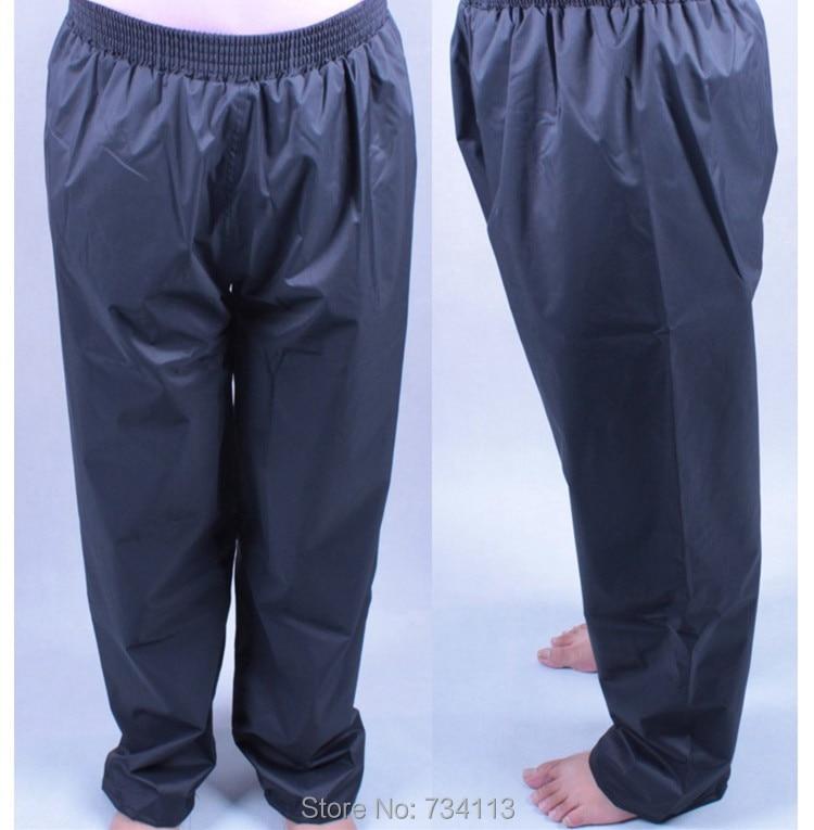 Rain pants High Quality Rain Proof Pants For Men Waterproof Long Adult Waterproof Motorcycle Pants Impermeable Elastic waistband