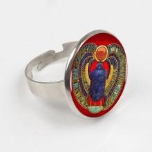 Fashion Egyptian Scarab Ring, ancient egypt jewelry Egypt Ring Egyptian jewelry For Women egyptian magic mollo 118ml