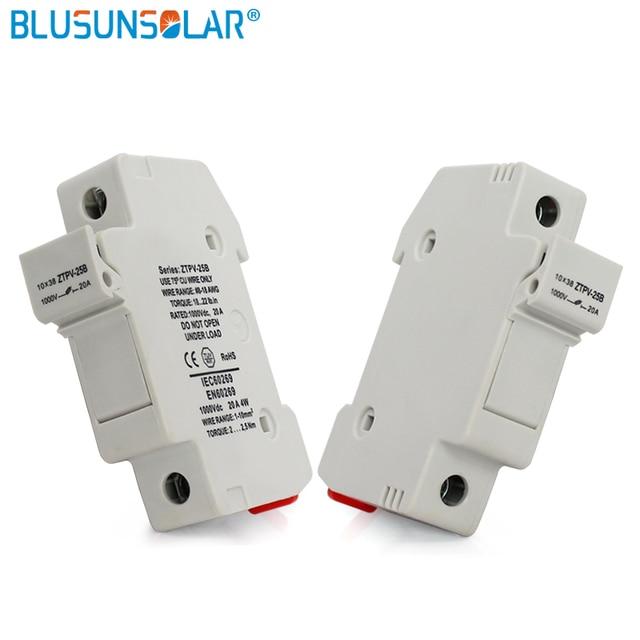 10 pièces/lot porte-fusibles PV solaire | Lien Fusible pour Fusible PV 1000V DC étanche avec haute qualité BX0236