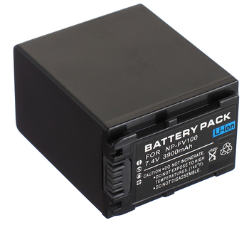 Battery Pack for Sony HDR-CX110E,HDR-CX115E,HDR-CX130E,HDR-CX150E,HDR-CX160E,HDR-CX170E,HDR-CX180E,HDR-CX190E Handycam Camcorder фото
