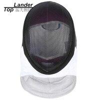 Máscaras de esgrima 350NW Folha de Forro Removível E Lavável Máscara Capacete CE Aprovado Equipamentos de Treinamento de Esgrima Espada de Sabre