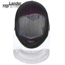 Szermierka maski 350NW zdejmowana zmywalna podszewka folia maska kask dopuszczenie ce Epee szabel szkolenia sprzęt do szermierki w Sztuki walki od Sport i rozrywka na