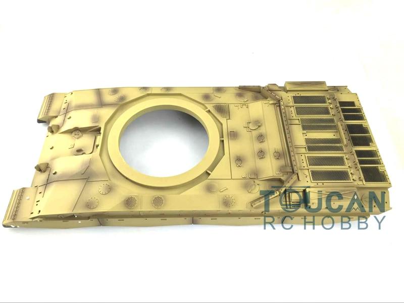 HengLong 1/16 Plastic Upper Hull for UK Challenger II Tank 3908 Spare Part challenger alpina 16 white pink