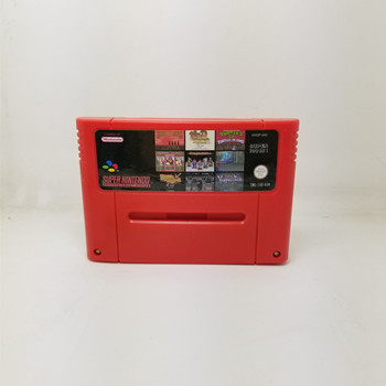 Super 100 in 1 EUR Version Game Cartridge ActRaiser 2 Axelay Castlevania Vampire's kiss Hagane Goof Troop Mega Man X Soccer