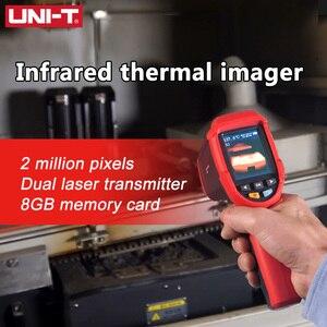 Image 4 - UNI T UTi80 тепловизионная камера цифровой термометр Imager инфракрасная камера 4800 пикселей цветной экран с высоким разрешением