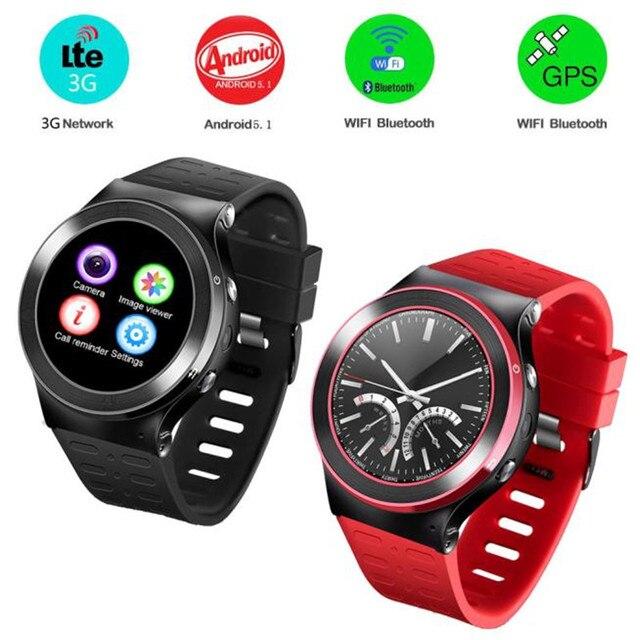 S99 GSM 8 Г Четырехъядерный процессор для Android 5.1 Smart Watch С 5.0 МП Камерой GPS WiFi