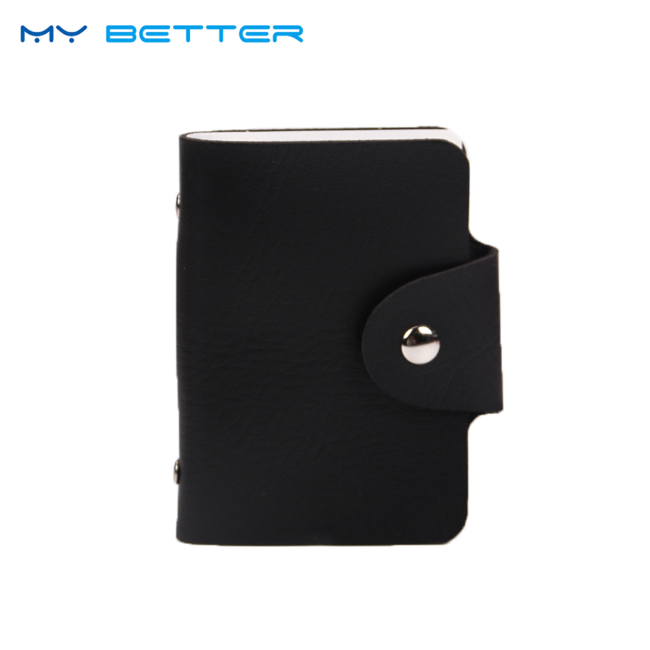 Cute 12 Card Slots Double Sided Plastic ID Card Holder Small Size ...