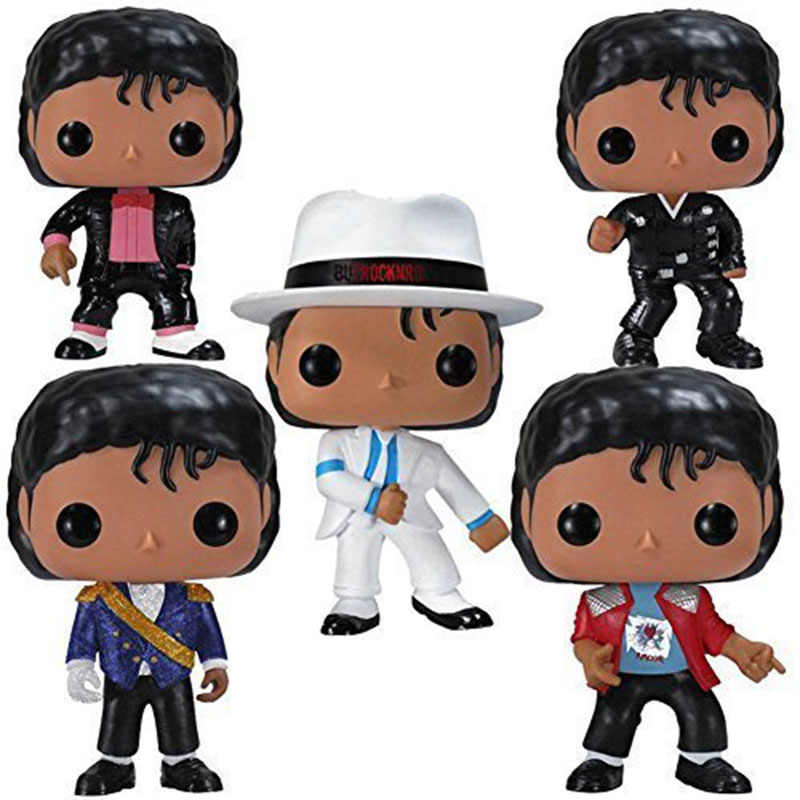 FUNKO POP MICHAEL JACKSON Smooth Criminal BEAT IT BILLIE JEAN BAD Vinyl Action Figures Collection Figure Toys Gifts for Children