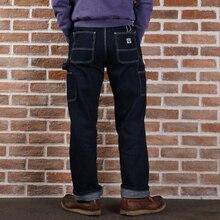 2017 non stock denim trousers 12 oz vintage raw denim jean