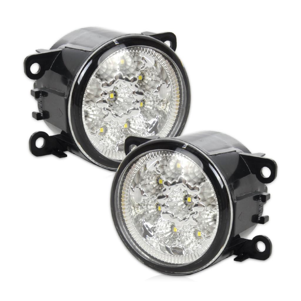DWCX 2x55 W 9-LED Putaran Depan Kanan / Kiri Fog Lamp DRL Daytime - Lampu mobil - Foto 2