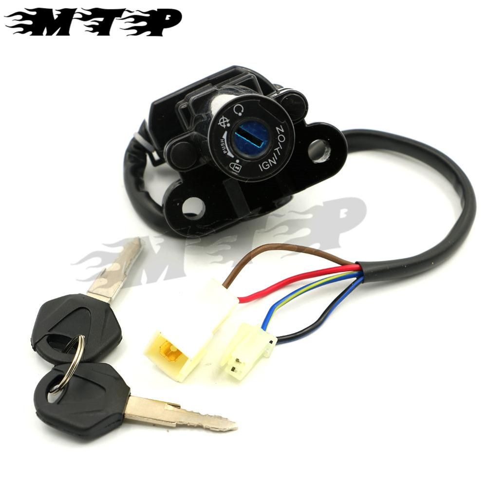 4 Wires Ignition Switch Lock Fuel Gas Cap Key Set For Yamaha Yzf R1 Wire Wiring R6 2001 02 03 04 05 06 07 08 09 10 11 2012 Motorcycle Part In Motorbike Ingition From