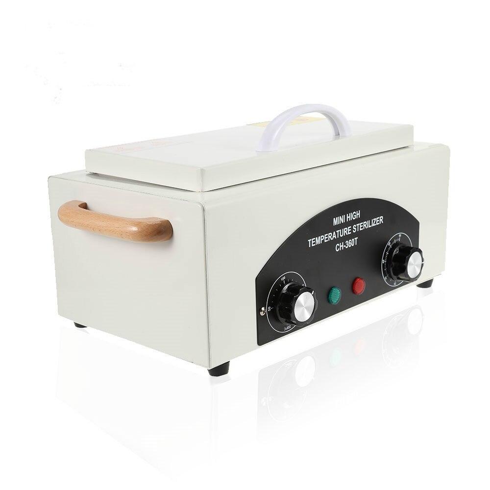 Professionnel Nail Art Salon outil haute température stérilisateur boîte Portable stérilisation manucure pédicure Nail Art outil chaleur sèche