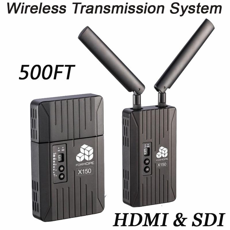 Para el sistema de transmisión inalámbrica de la Esperanza 500FT cámara de transmisión profesional SDI 3G 1080 P HDMI Sistema de transmisor y receptor de vídeo