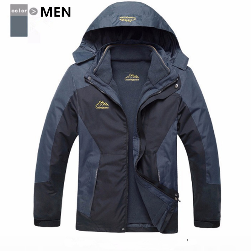 Safety Men Women Winter Warm Waterproof Windproof Outdoor Jacket Camping Softshell Jacket New Hiking Research Acetylene