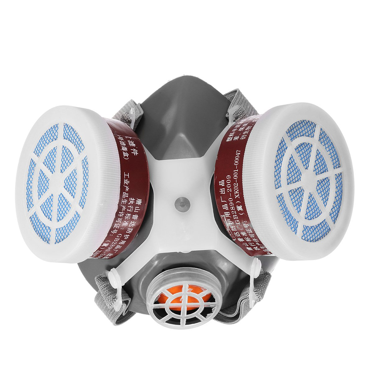 Safurance Respirator Gas Mask Safety Chemical Anti-Dust Filter Military Workplace Safety Protection Anti Dust anti splash resistant high temperature aluminum alloy bracket mask safety protection mask