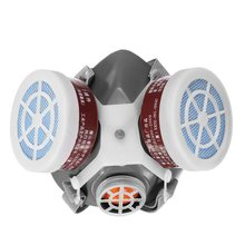 Safurance Respirator Gas Mask Safety Chemical Anti-Dust Filter Military Workplace Safety Protection Anti Dust
