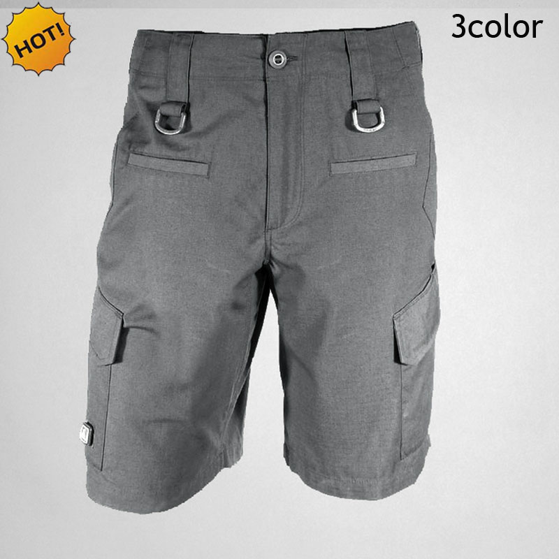 Top Quality 2017 ESDY Brand Baggy Summer Style Soldiers Loose Traning Rock City Tactical Cargo Men 8Pocket Army Short Trousers